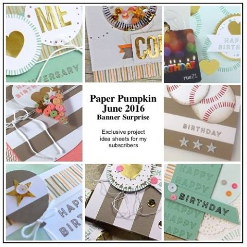 Join my Paper Pumpkin Patch and get 10-12 bonus project ideas to help you think outside the box #paperpumpkin #stampinup www.juliedavison.com